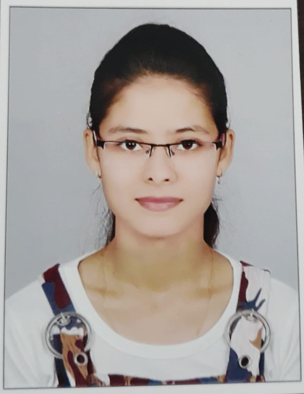 Ms. Tanvi Charaniya : Lab Technician(Microbiology)