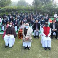 NSS volunteer  participated in Republic-day 2021 Pared
