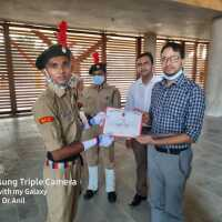 NCC Unit Diu  first Camp completion